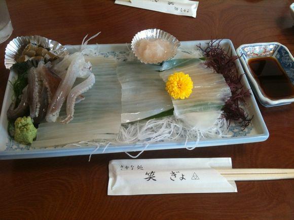 網代の魚レストラン「笑ぎょ」